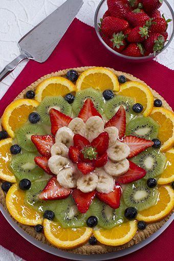 La crostata alla frutta è come la chiamo io una torta passe-partout perché è adatta per gli usi più vari: per accompagnare un succo di frutta durante la me
