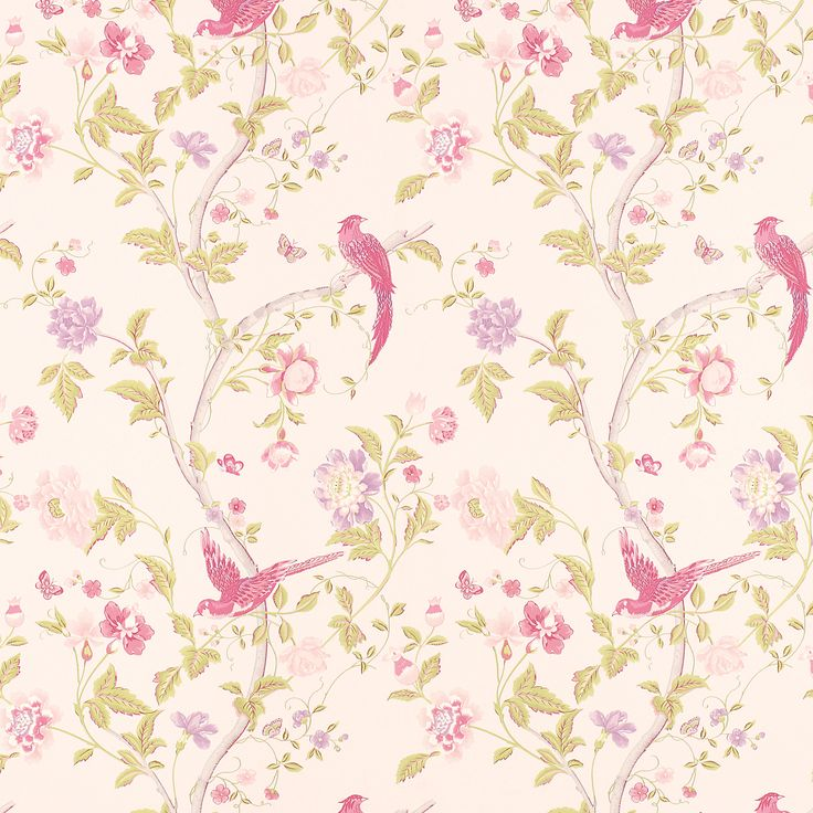 summer palace cerise floral wallpaper laura ashley for spare bedroom or master bathroom