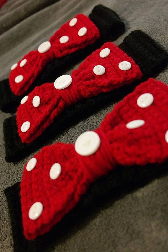 Hey, I found this really awesome Etsy listing at https://www.etsy.com/listing/228697561/crocheted-minnie-mouse-themed