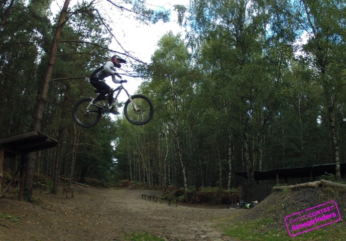 Roadgap filthy trails belgium - Rider : Marina Heimensen - Photo: Harm Spoelstra | VOTE » www.ilovegirlriders.com/en/photo-contest-spring - #ilovegirlriders #iamagirlrider #ilgr #girlriders #photocontest #photo #contest #mtb #cycling #downhill #road #bmx