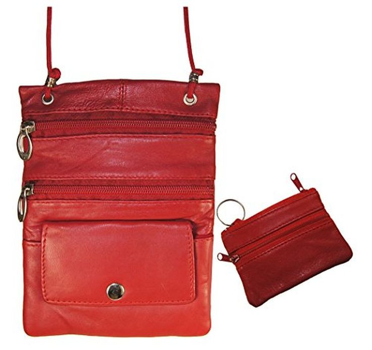 Leather Zip Around Wallet - Water and Berries by VIDA VIDA K9FXgA7L