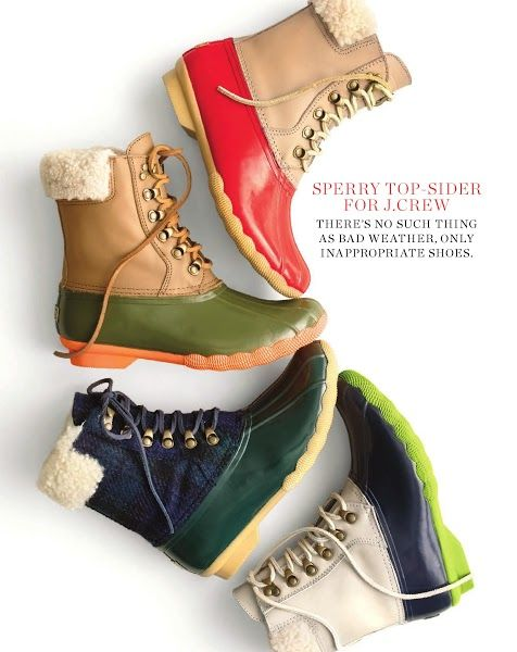 Sperry Top Sider for J. Crew