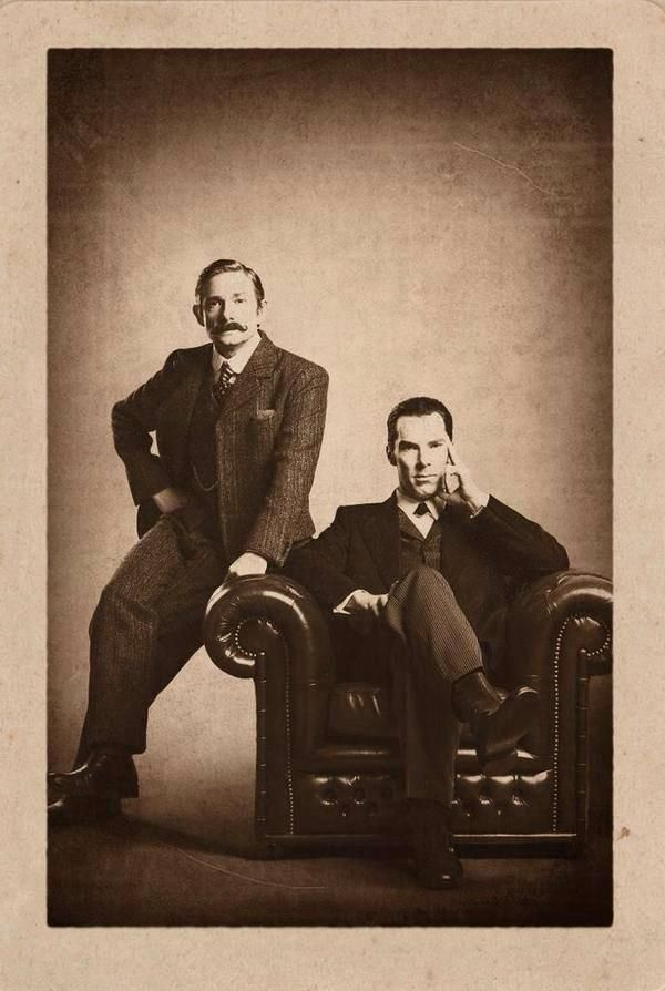 New Sherlock Christmas Special Promo Picture - Victorian style