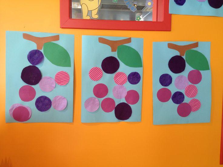 Grapes craft-  uvas