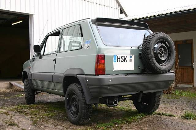 10 best images about fiat on pinterest fiat abarth for Panda 4x4 extreme