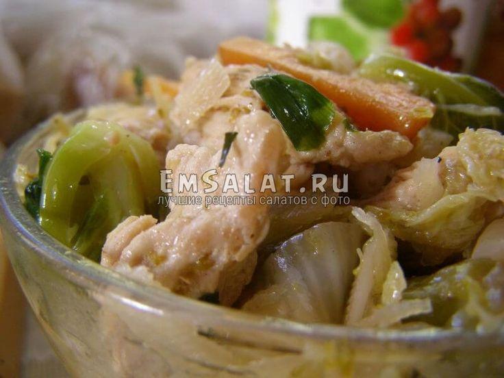 Салат из отварной индюшки и овощей - http://emsalat.ru/salad_veget/salat-iz-otvarnoy-indyushki-i-ovoshhey.html