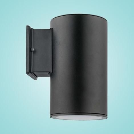 """Outdoor Wall Light with Black Finish & Clear Glass 1 x 75W Dimensions: W:5.00""""; H:8.66""""; D:6.81"""" Type of bulb: Par 30 - Not Included Special Features:Non"""