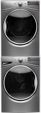 Whirlpool Front Load Washer & Dryer Set Chrome Shadow WPWADRGC385