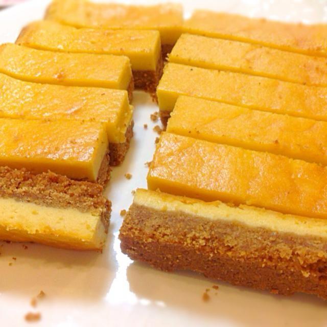 これは美味しい〜 すごいのがやって来た  ここに青森で買って来た、りんごジャムをトッピング✌️ - 145件のもぐもぐ - わ〜新ネタ来た〜(^^)「スティックチーズケーキ」 by drhasimoto