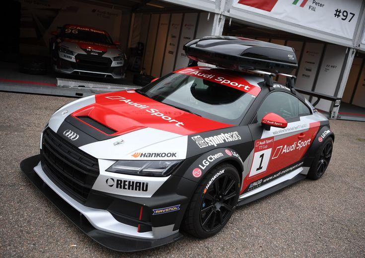 Audi TT Cup doet een Jon Olsson - http://www.topgear.nl/autonieuws/audi-tt-cup-met-dakkoffer/
