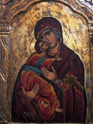 Religious Icon, Meteora, Greece