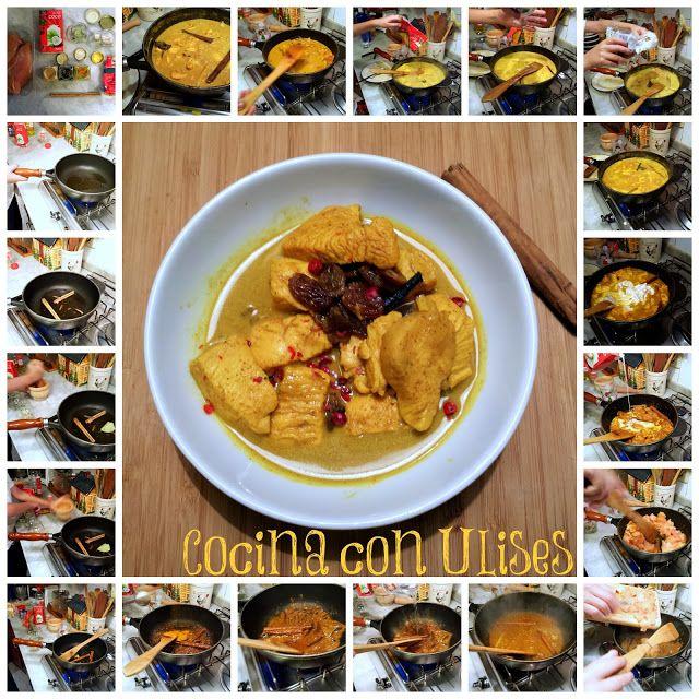 El festín de Marga: Pollo al curry indio amarillo (Cocina con Ulises)