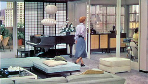 Joan Crawford's apartment from movie Torch Song