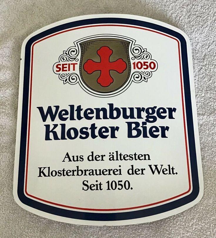 """eBay: Weltenburger Kloster Bier enamel sign 15""""X…"""
