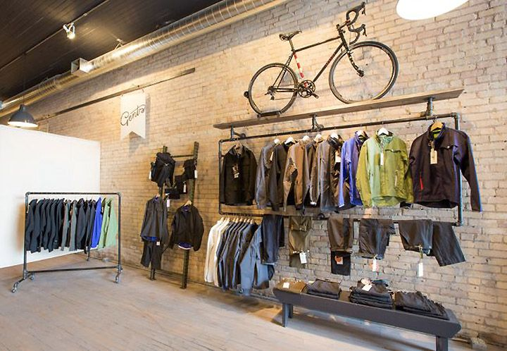 Handsome Cycle store by KNOCK, Minneapolis » Retail Design Blog