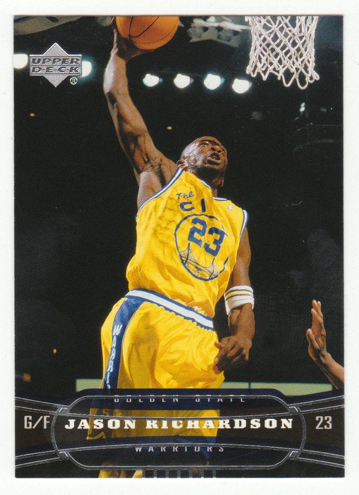 Jason Richardson # 53 - 2004-05 Upper Deck Basketball