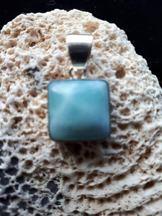 Check out this item in my Etsy shop https://www.etsy.com/ca/listing/532057164/larimar-pendant