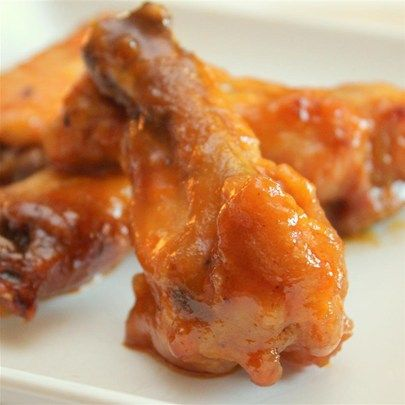 """Detroit Hot Honey Wings I """"I made this recipe on a cold Friday evening and it was a BIG hit. The kids loved it!"""""""