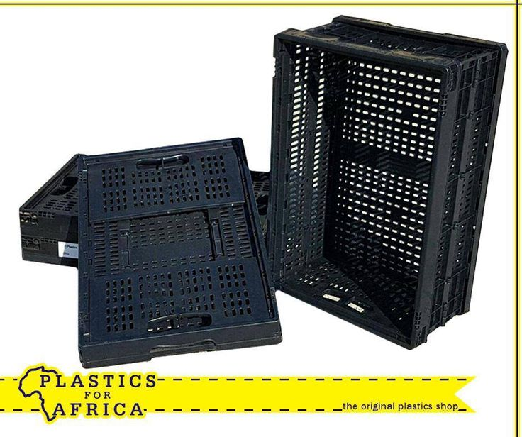 These Collapsible crates are ideal for transporting groceries in the car. Available from #PlasticsforAfrica for only R99 each. T's & C's apply, E&OE.