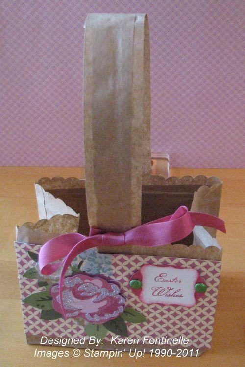 A Paper Bag Easter Basket | Templates/Tutorials | Easter ...