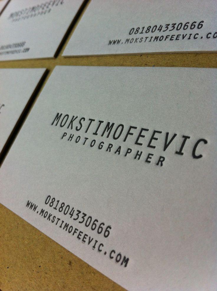 Mok business card