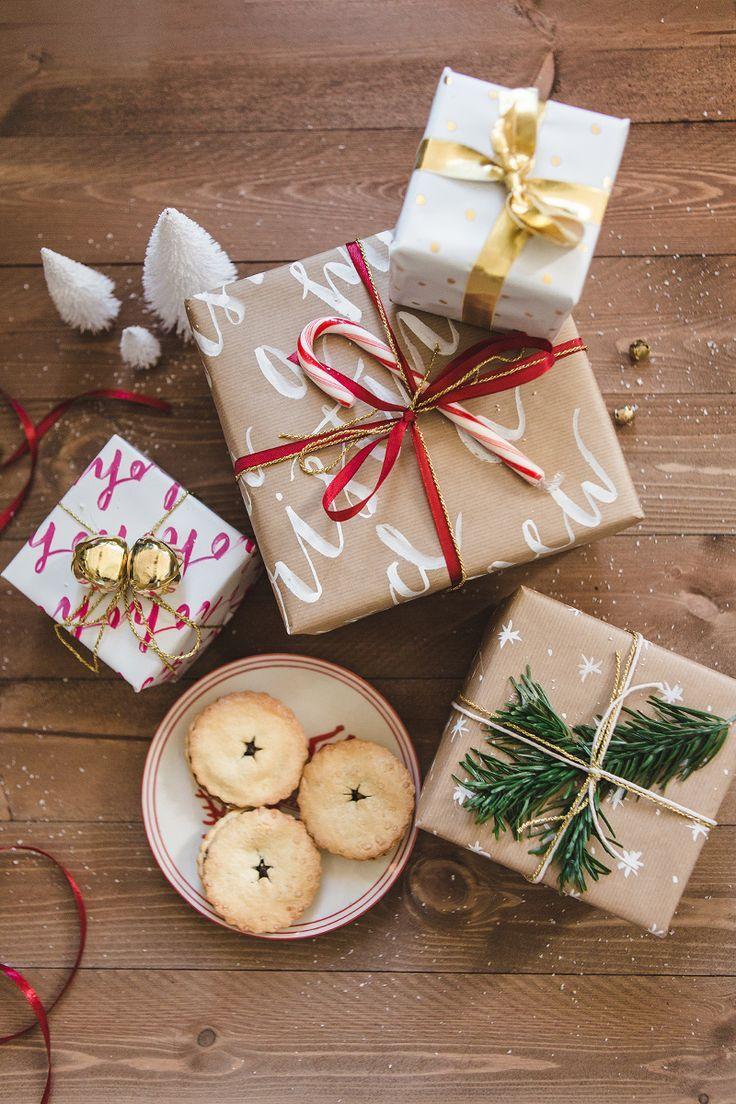 Christmas decorations to make yourself - Diy Christmas Wrapping