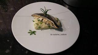 la cuisine j adore : PAPILOTTE DE CHINCHARD A LA MOUTARDE, ECRASE DE PO...