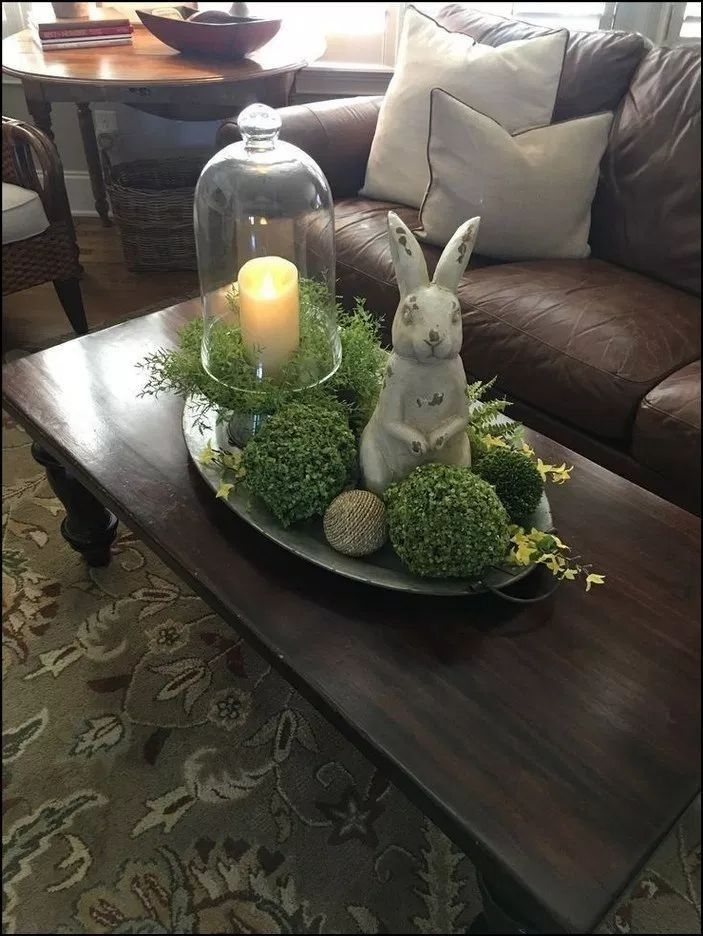38 Delightful Spring Table Decoration Ideas Spring Easter Decor Easter Decorations Dollar Store Easter Centerpieces