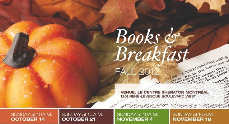 LLP author Terry Mosher is appearing twice at Books & Breakfast this fall at the Sheraton Hotel, Montreal  http://www.lindaleith.com