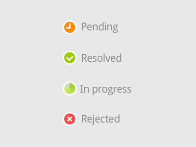 Freebie: Sample Status Icons