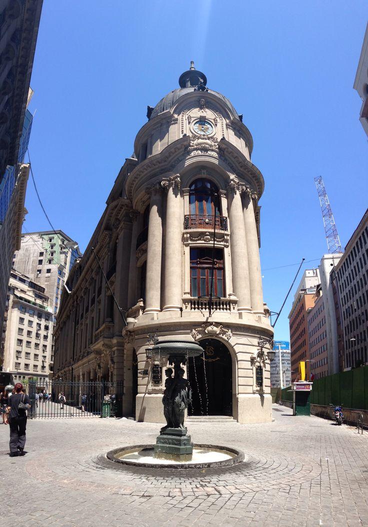 Downtown Santiago, Chile.