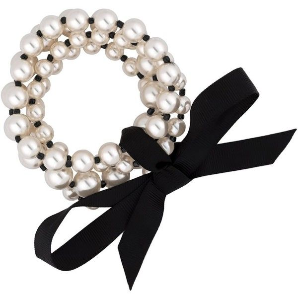 Jon Richard Monochrome Pearl Bracelet Set Liked On Polyvore Featuring Jewelry Bracelets Pearl Bangles Pearl Jewe Pearl Bangle Pearl Bracelet Pearl Jewelry