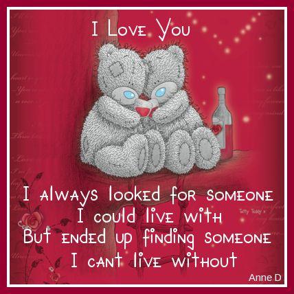 """♥ Cute Tatty Teddy ~ """"I Love You"""" ♥"""