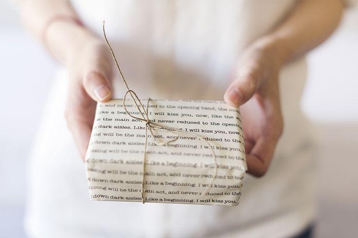 poem gift wrap