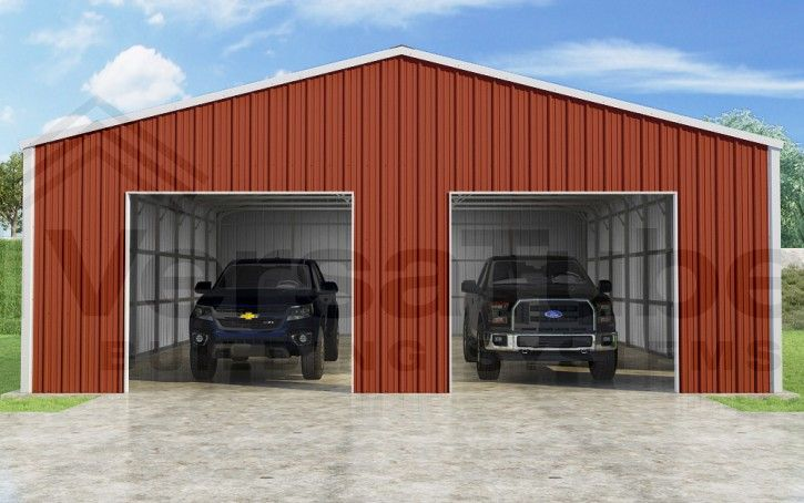 Summit Garage 30 X 40 X 10 Garage Or Building Building Kits Garage Style Diy Garage Kits Steel Sheet Metal