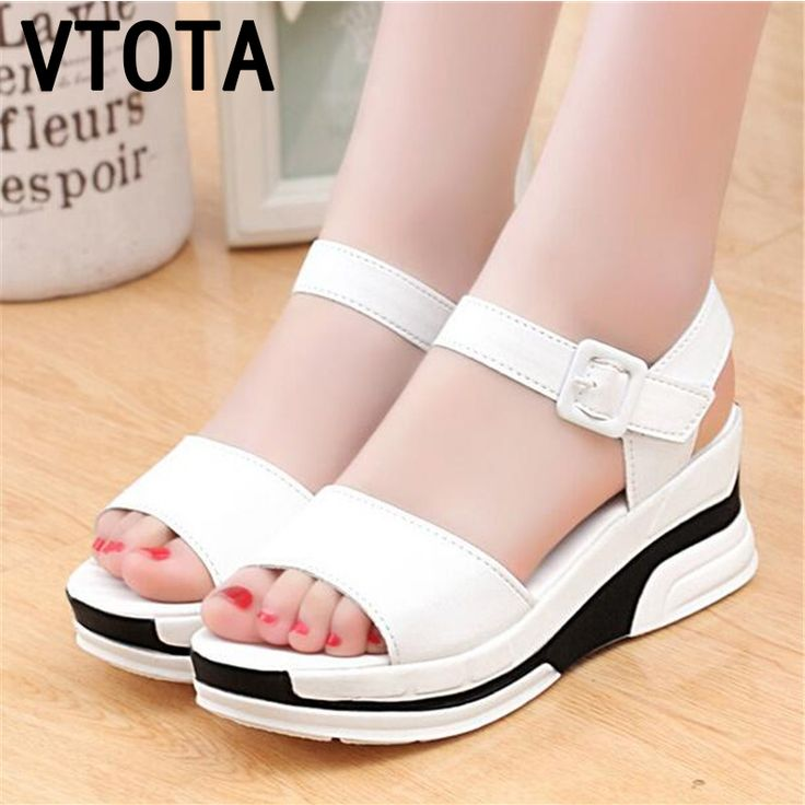 2016 Summer shoes woman Platform Sandals Women Soft Leather Casual Open Toe Gladiator wedges Trifle Mujer Women Shoes Flats X6 #>=#>=#>=#>=#> Click on the pin to check out discount price, color, size, shipping, etc. Save and like it!