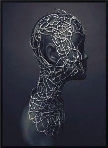 Plakat  Mannequin head - różne rozmiary