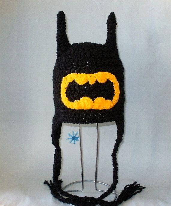 Modèle PDF Batman chapeau au crochet. Beanie et par FunyCreation, $4.50