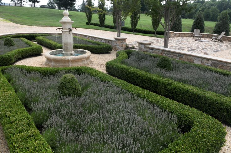 Marvelous Boxwood Shrub decorating ideas for  Landscape Mediterranean design ideas with Marvelous  Adirondack chairs chateau