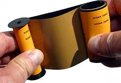 Re-spool available 120 film onto a 620 spool
