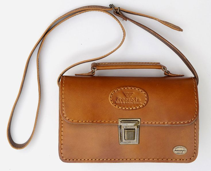 Freestyle Michelle Kudu Tan Handmade Genuine Leather Handbag. R 1'200.. Handcrafted in Cape Town, South Africa. Shop online https://www.thewhatnotshoes.co.za/ Free delivery within South Africa.
