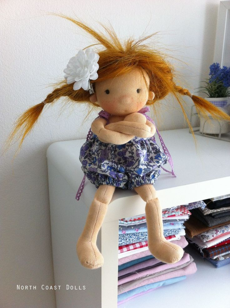 Flore by North Coast Dolls. Not happy.