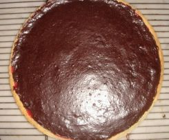 Tarte au chocolat amer de josy de lyon