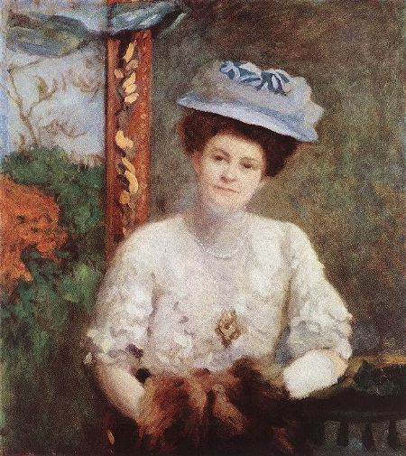 Karoly Ferenczy: Portrait of Mrs. Vilmos Grunwald