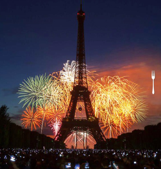 spending bastille day in paris