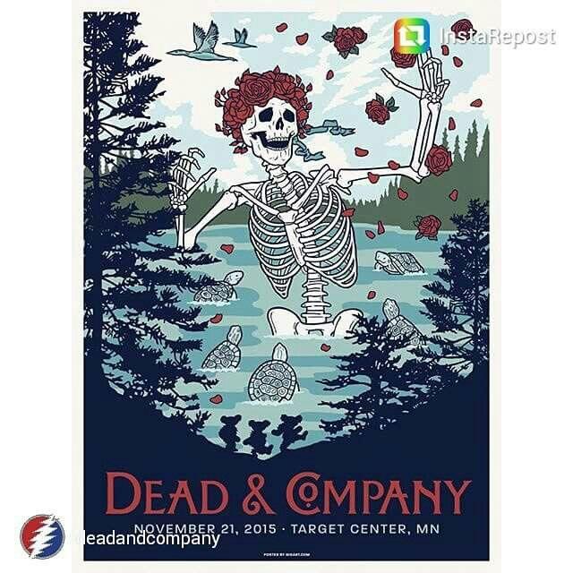 Minneapolis November 21th Dead And Company 2015 Pinterest Minneapolis And November