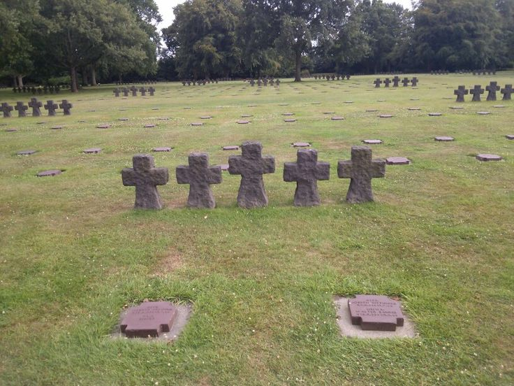 La Cambe German Cemetery, France