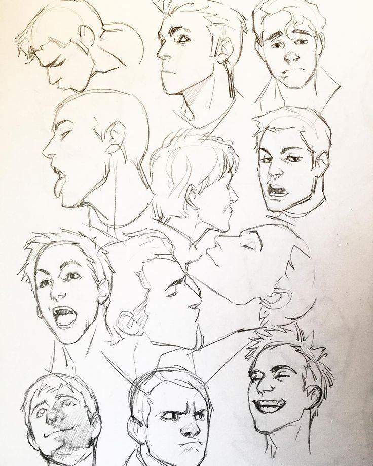 Картинки комиксов головы