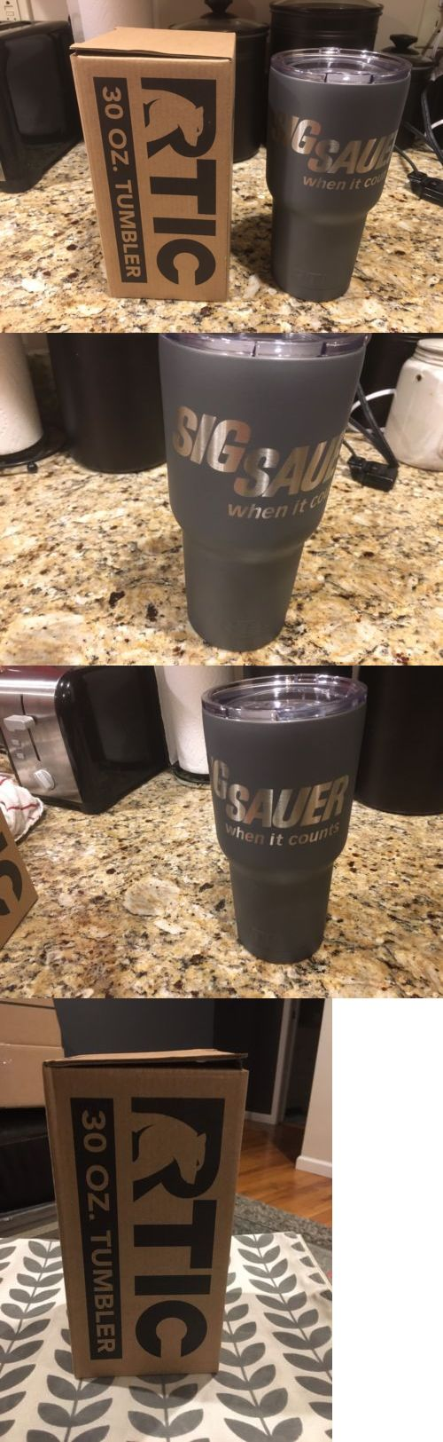 Other Camping Cooking Supplies 16036: Sig Sauer 30 Oz Rtic Tumbler Tactical Gray Cerakote (Yeti Rambler) -> BUY IT NOW ONLY: $45 on eBay!
