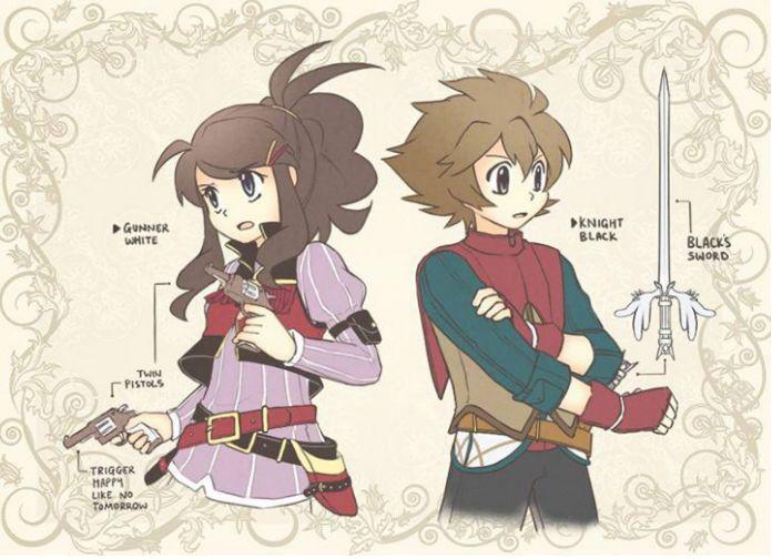 A twist on unova's pokemon trainers